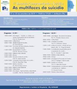 1º Simpósio Compreendendo o Suicídio