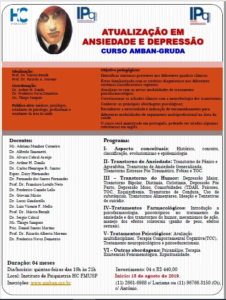 Curso de Atualização em ansiedade e depressão
