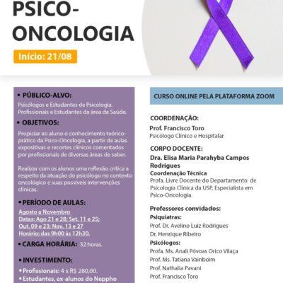 CURSO ONLINE – PSICO-ONCOLOGIA